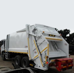 waste management trucks